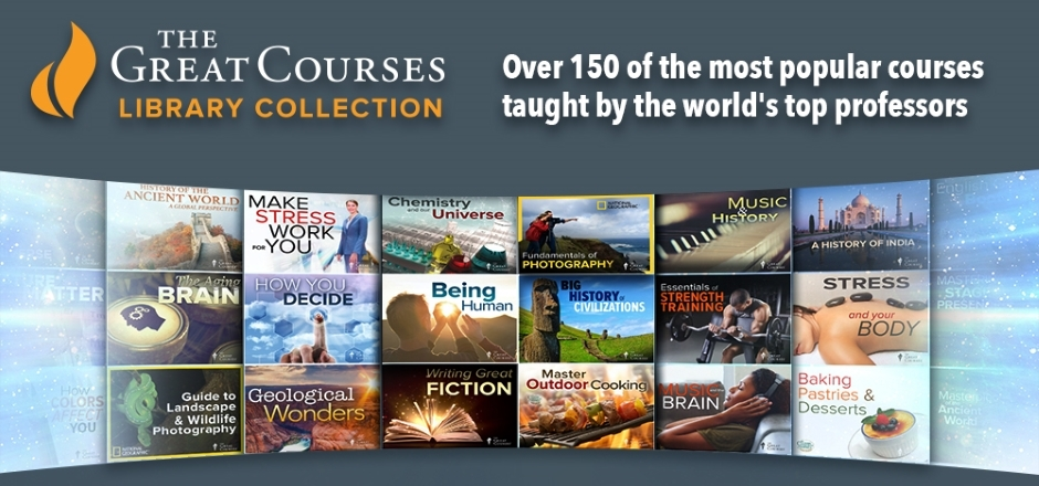 The Great Courses Banner Image