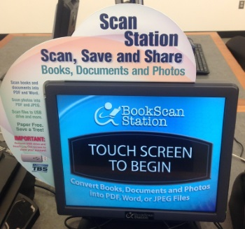 BookScan Station Fax