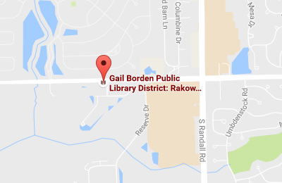 Rakow Branch Map